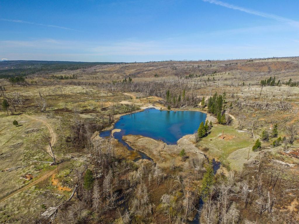 Rock Creek Ranch Lake Christine aerial